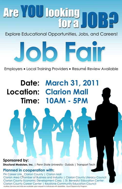 2011 Clarion County Job and Resource Fair Set for This Week ...