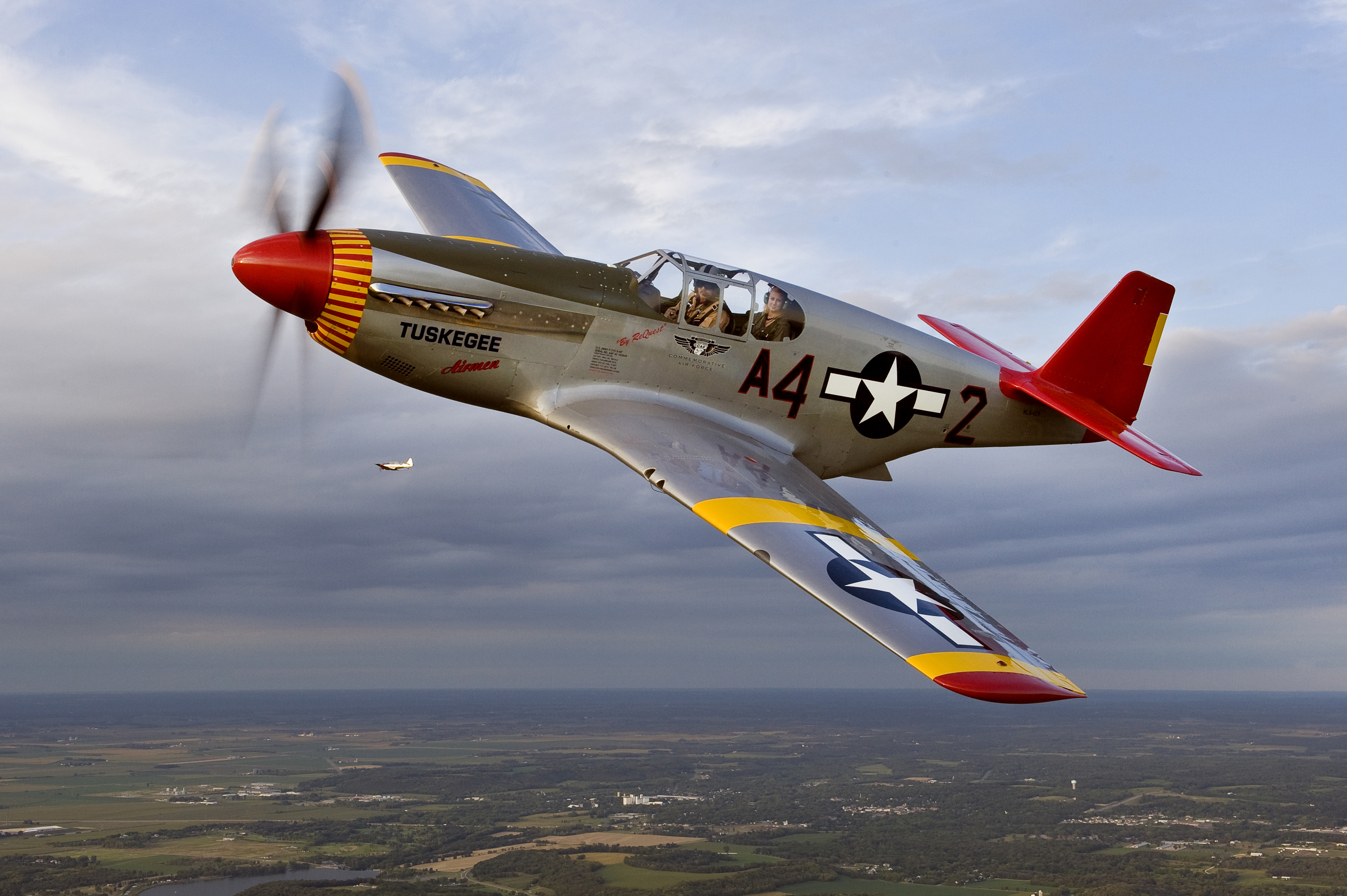 Caf Red Tails Squadron To Visit Clarion Airport During