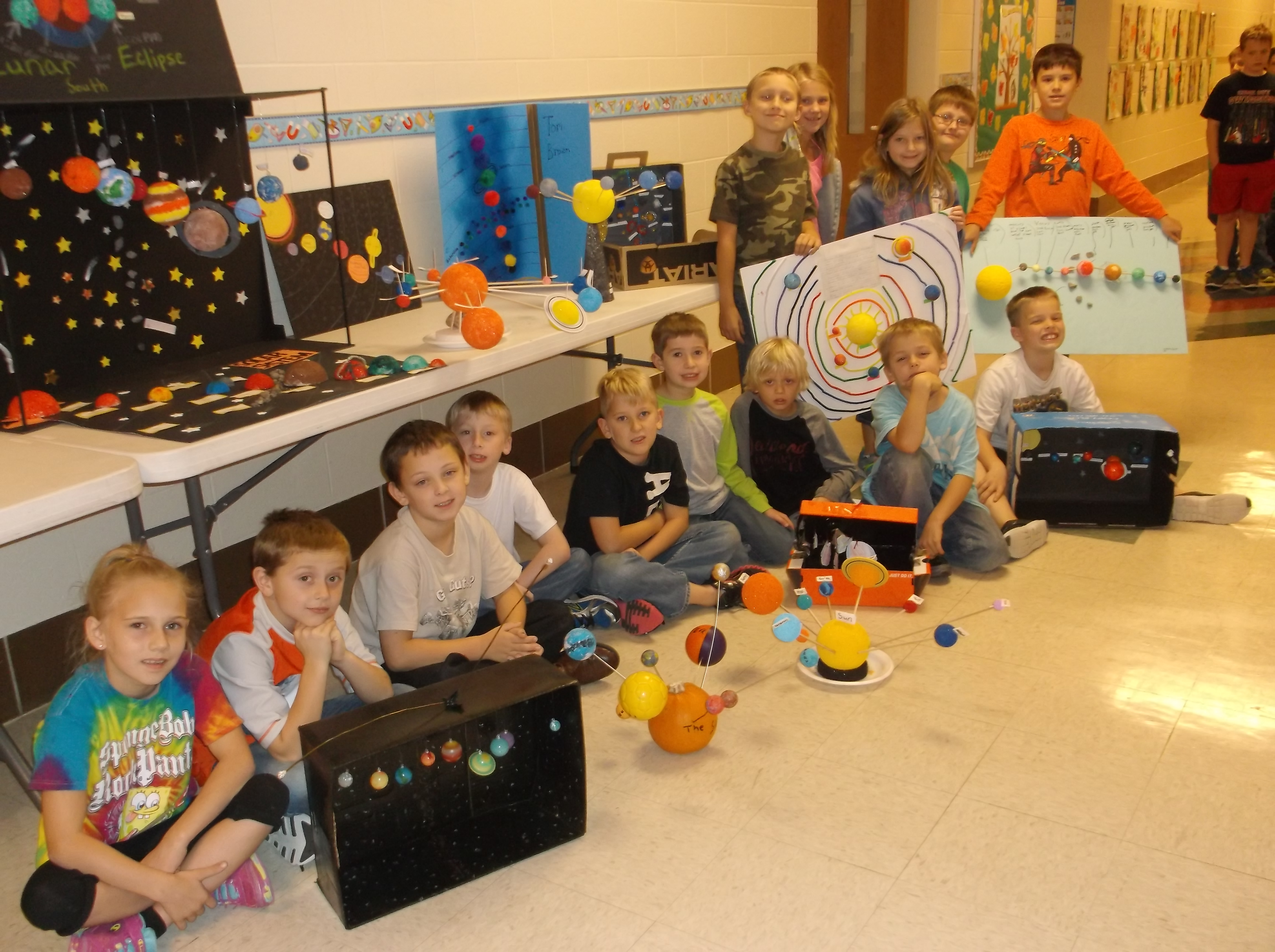 Solar System Project For Elementary School - solar system ...