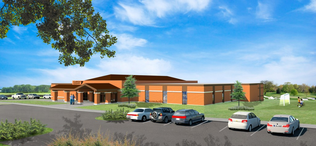 Clarion County New YMCA Front-022015