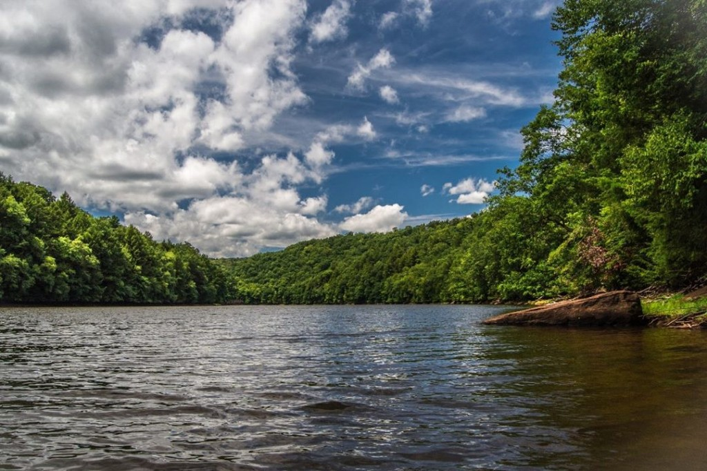 Clarion River By Toby Bridge