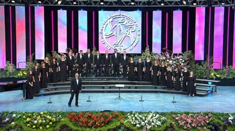 """""""Clarion University Chambers Choir received 3rd place honors in the world (on July 8, 2016) as they competed in Wales. Congrats CUP!""""  Submitted by Tracy Stitt."""