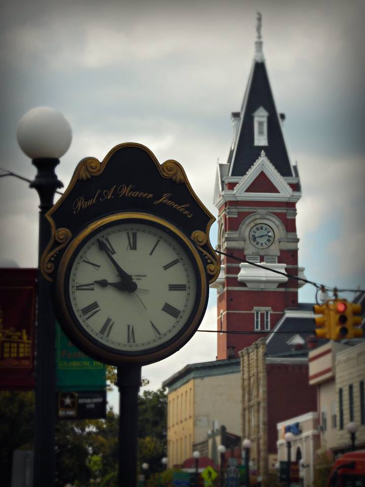 Downtown Clarion, Pa. Photo submitted by Brady Hunsberger.