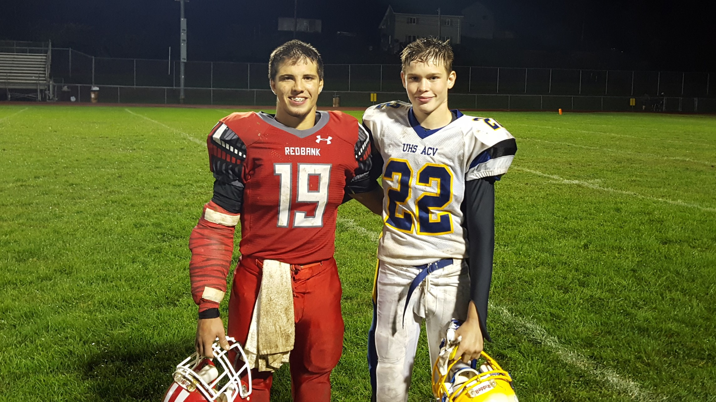 Hager Paving Players of the Game - Colton Mohney and Duncan