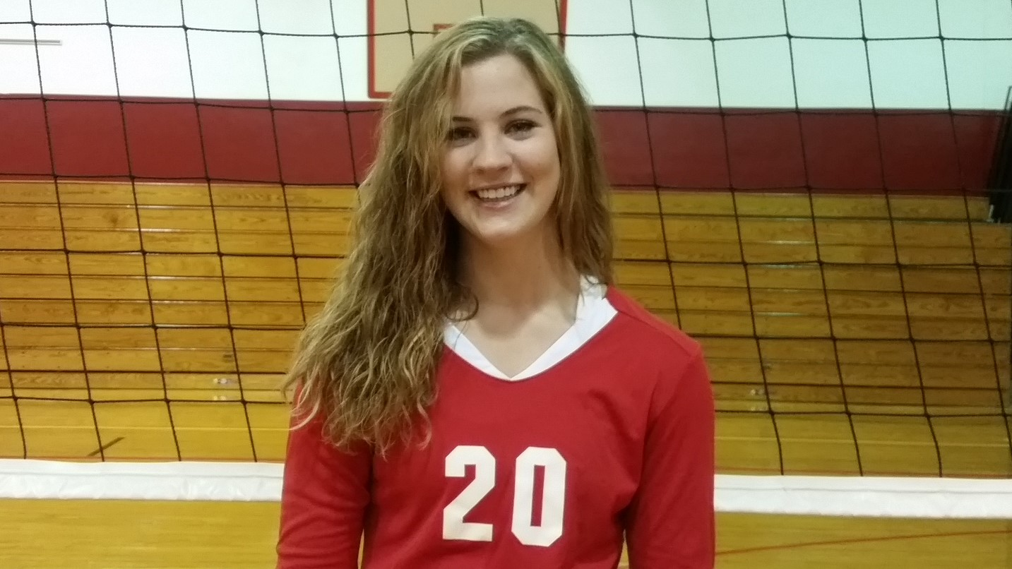 Heather Traister Redbank Valley volleyball