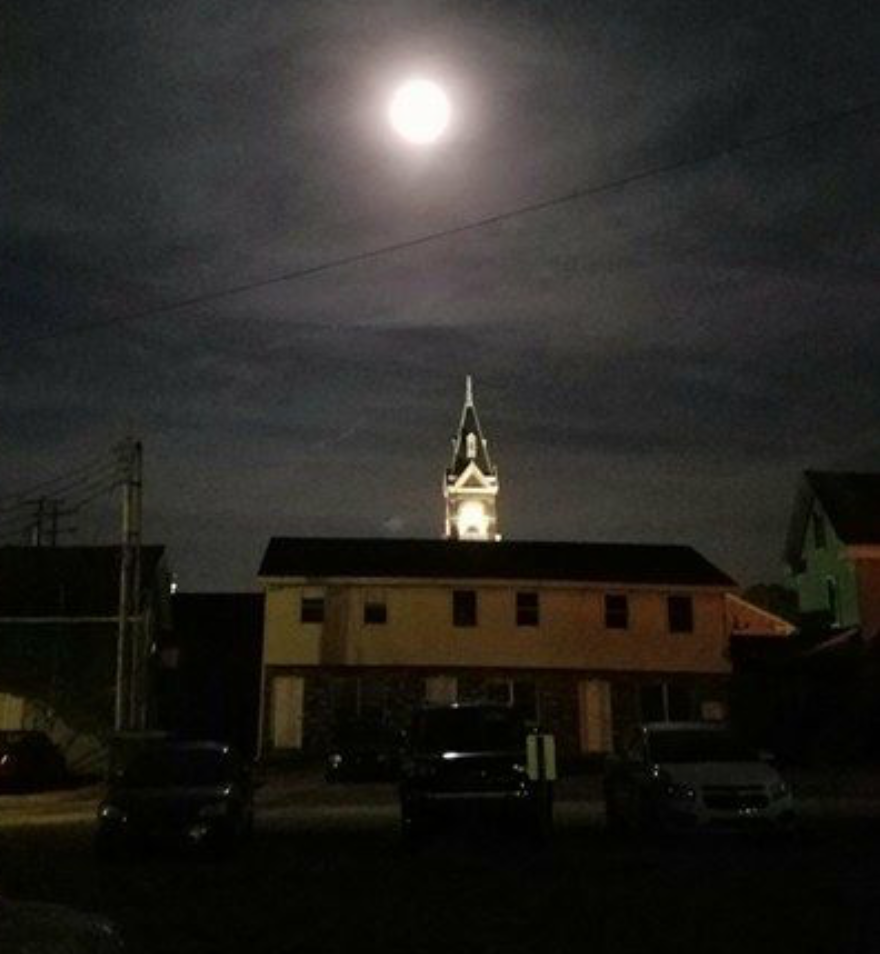 Photo taken on Friday night (September 16, 2016) in the Tavern's parking lot. Submitted by Sarah Harp-Smith.