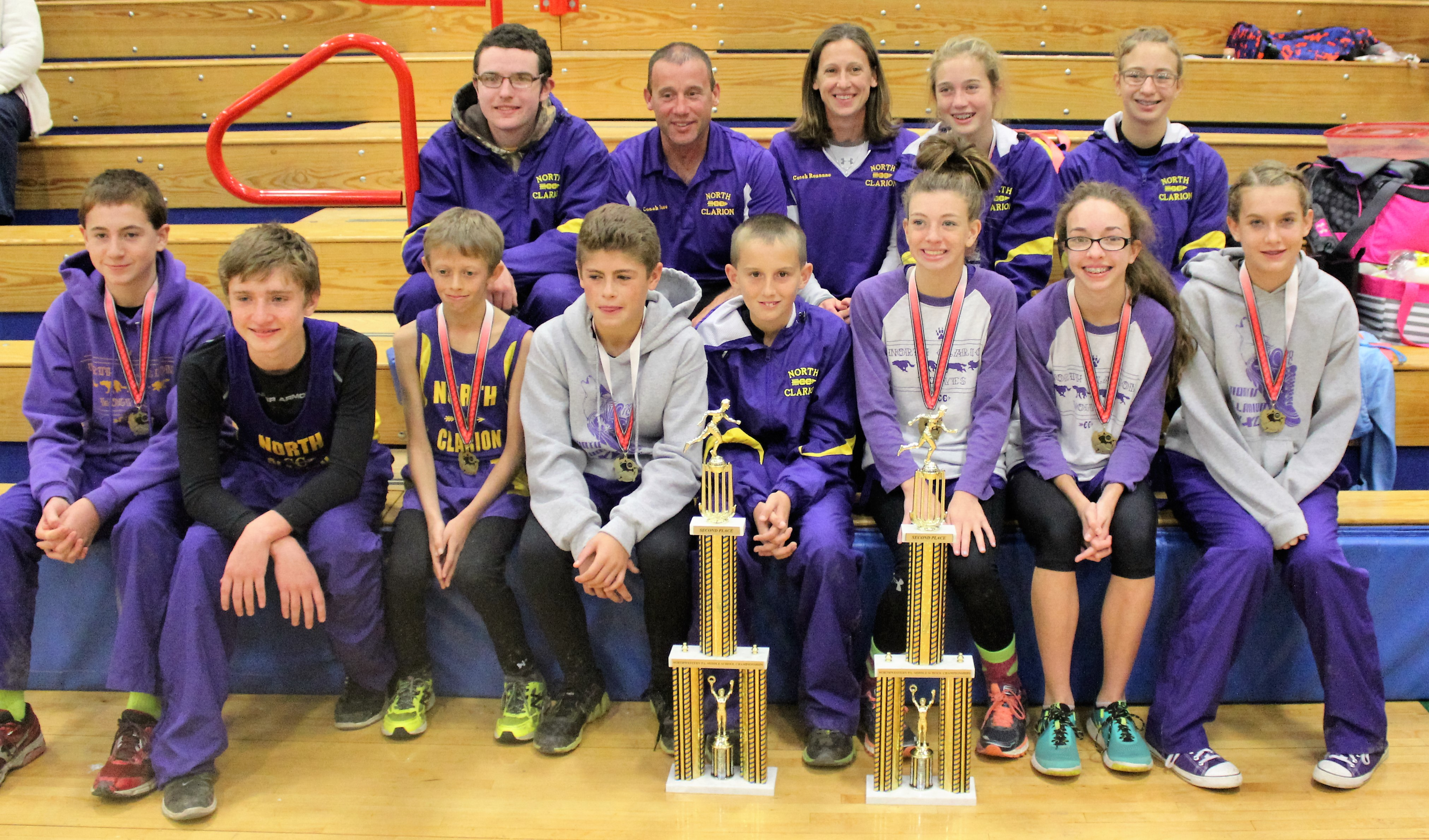 North Clarion Jr. High XC