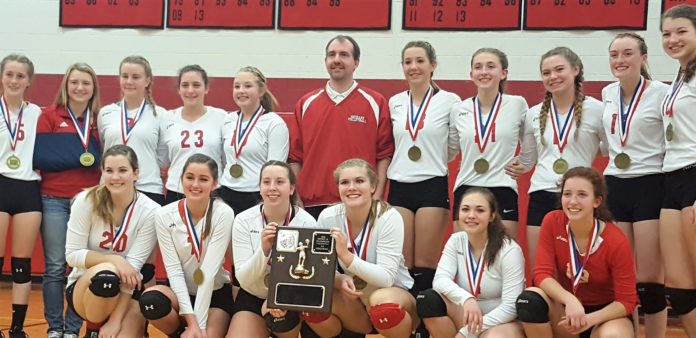 Redbank Valley 2016 Volleyball Champs 2A