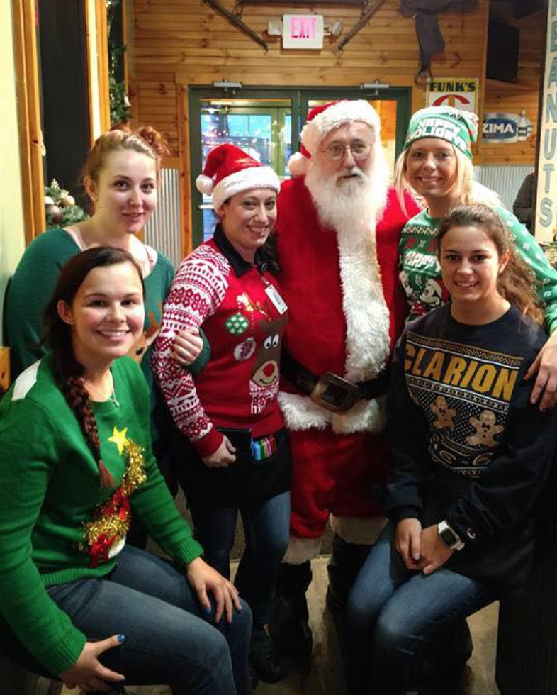 Merry Christmas from the RRR Roadhouse in Clarion!