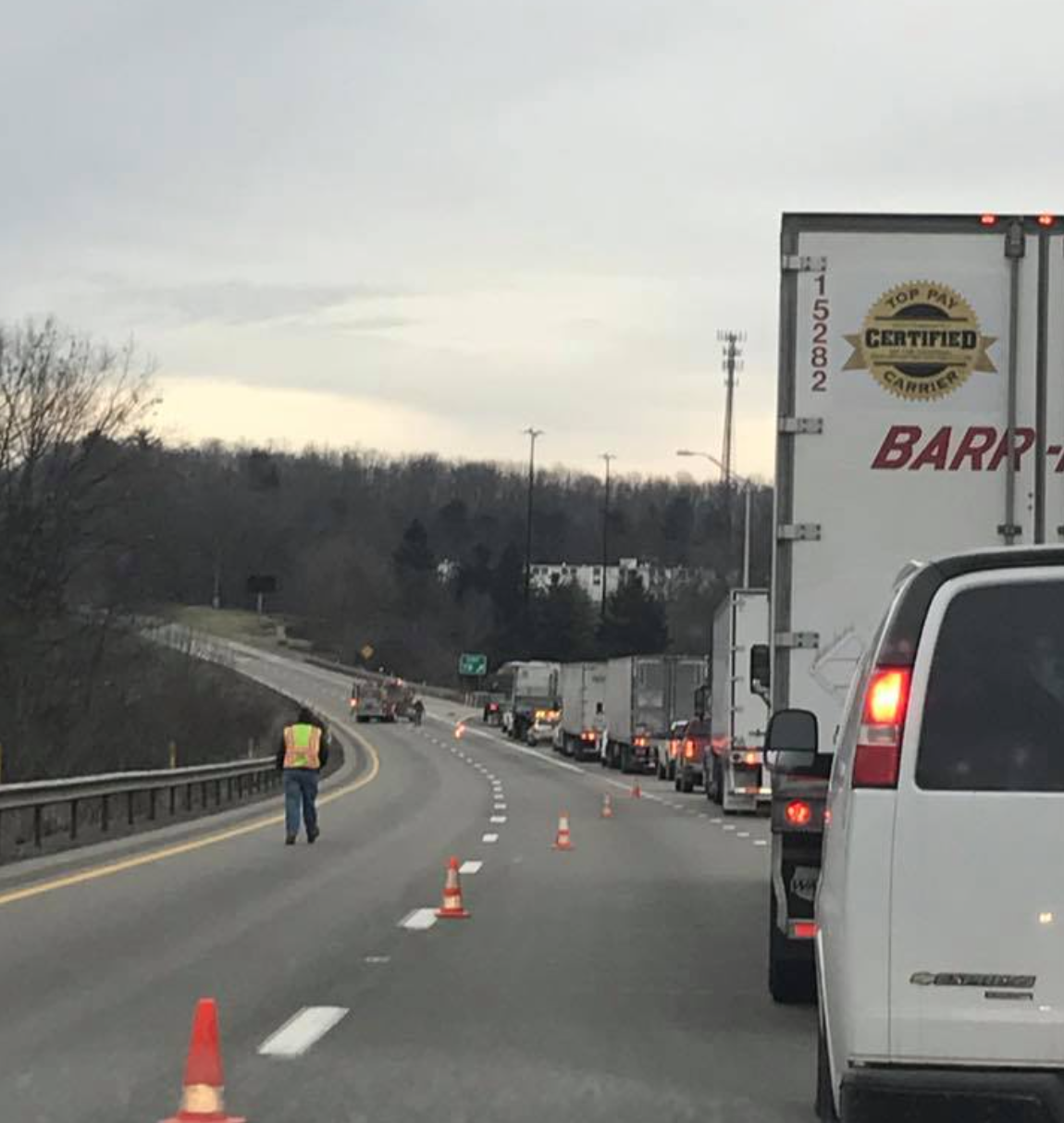 UPDATE: Egg Spill Scrambles Traffic on Interstate 80