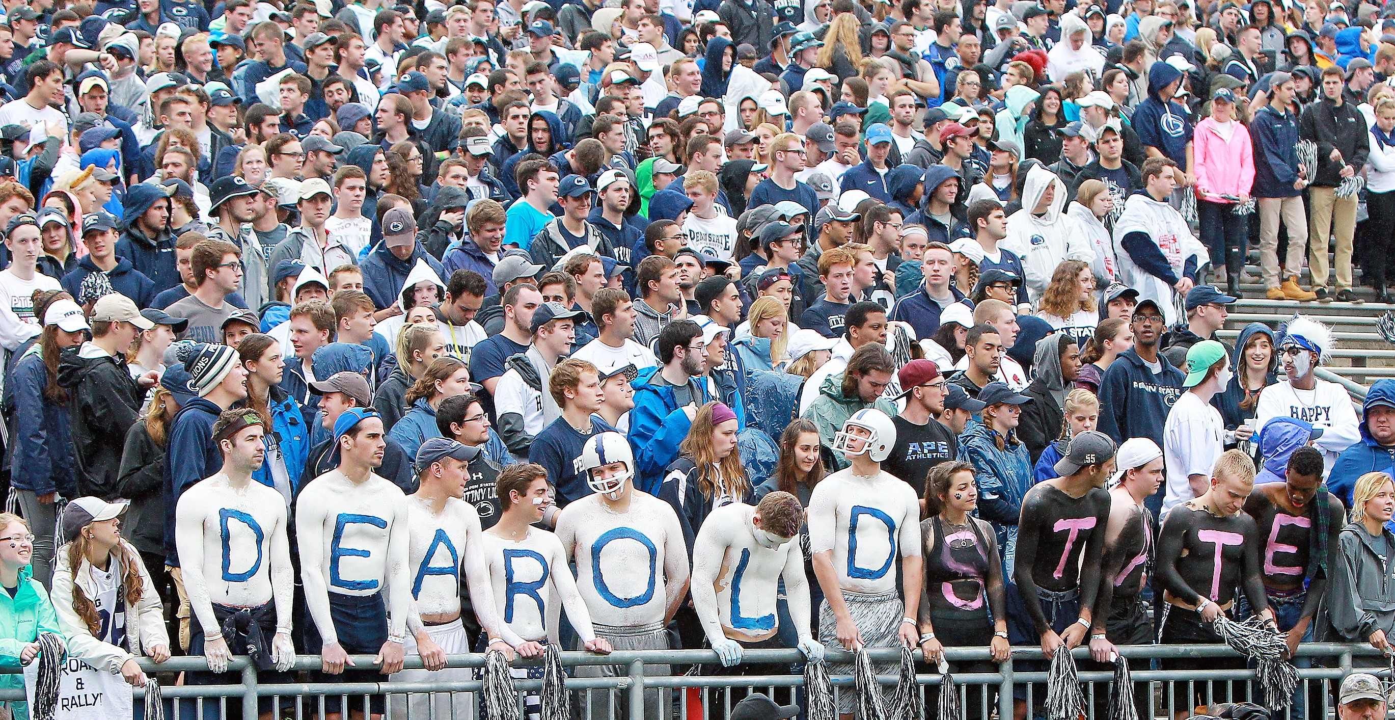 Penn State Football Crowd