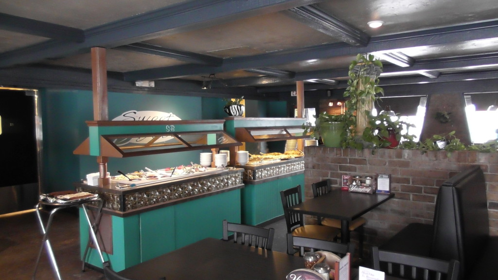 Sweet Basil Buffet Area
