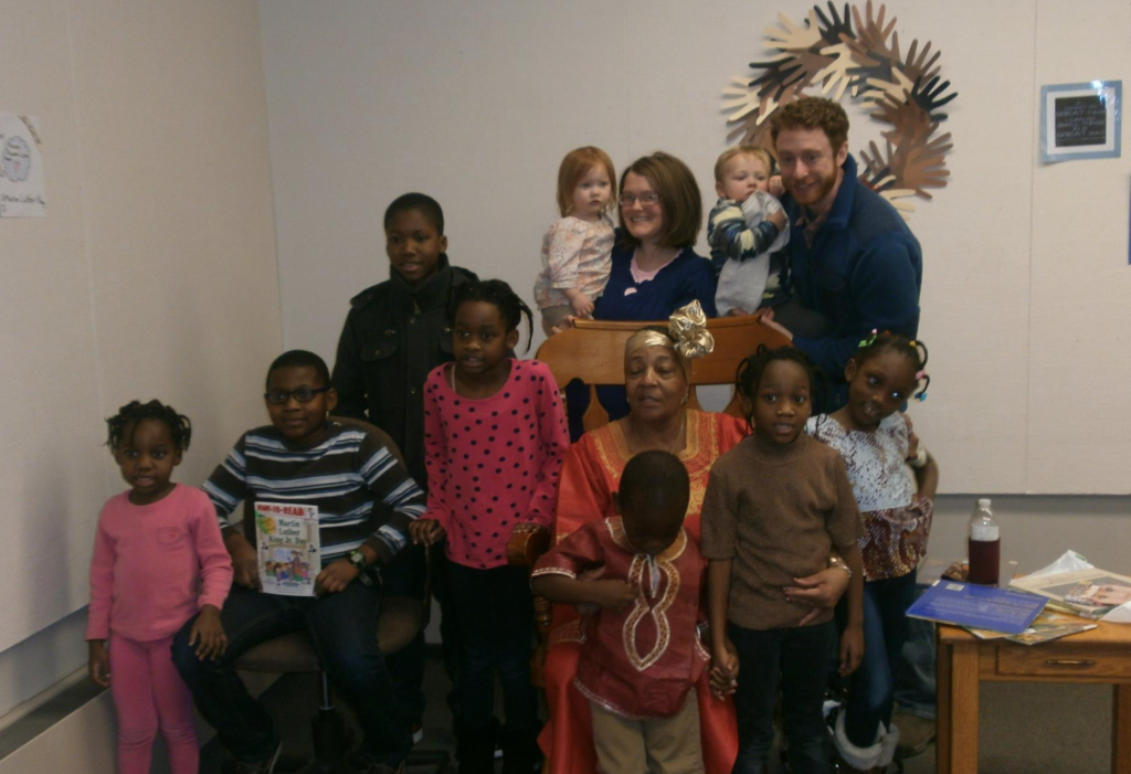 Captured on Diversity Day, held January 23 at the Clarion Free Library. Photo courtesy Clarion Free Library.