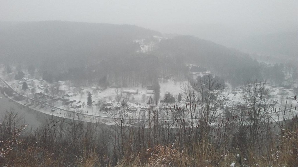 Overlook in East Brady, Pa. Photo by Jami Morris.