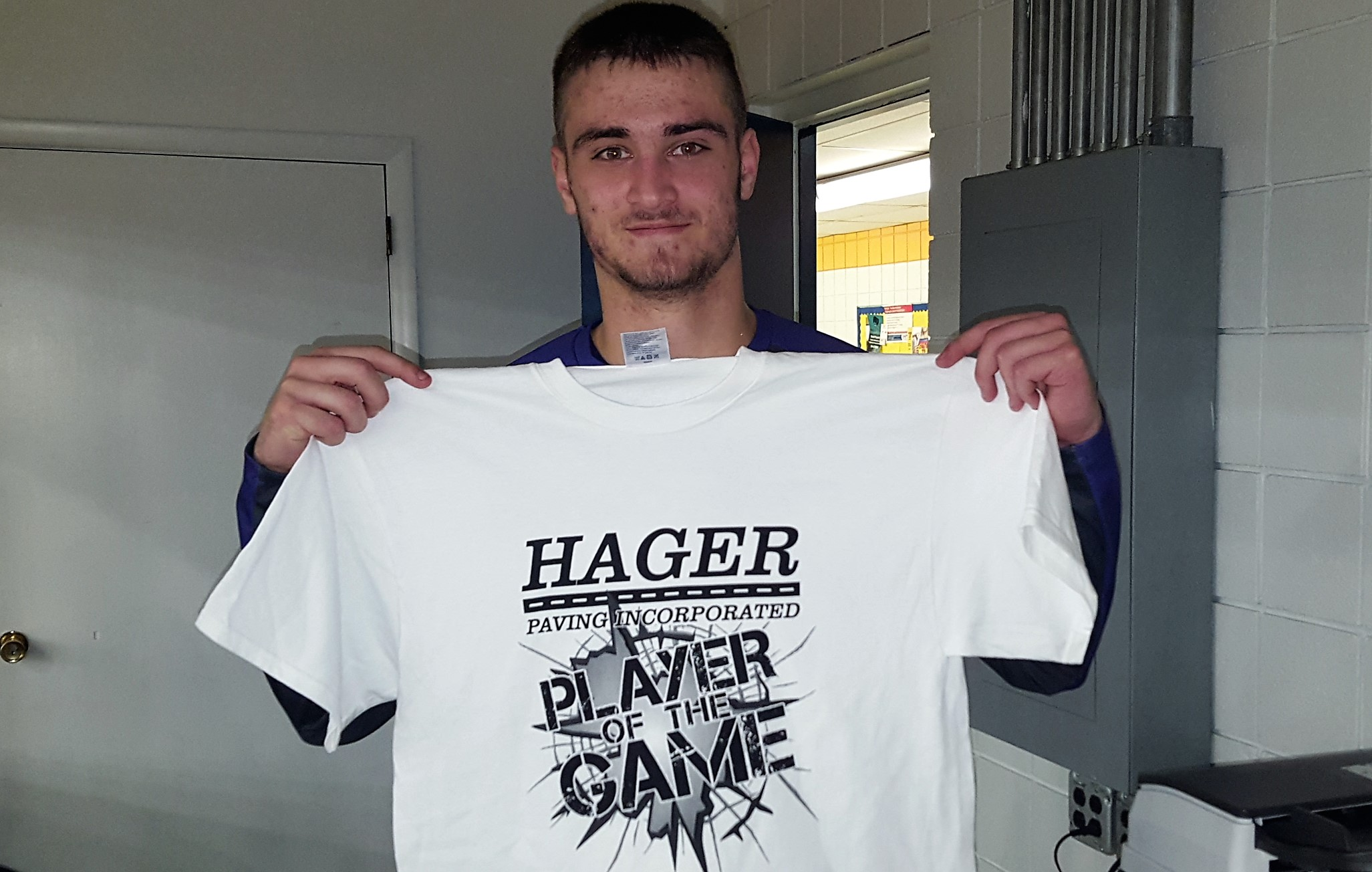 Chandler Turner Hager Paving Player of the Game