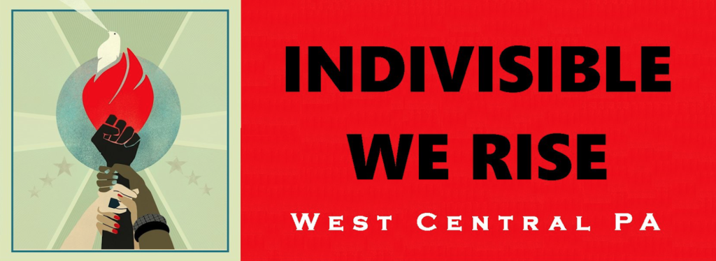 Indivisible West-Central PA Logo