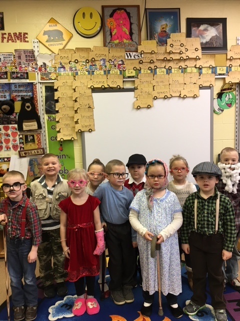 East Forest Students Celebrate 100th Day of School