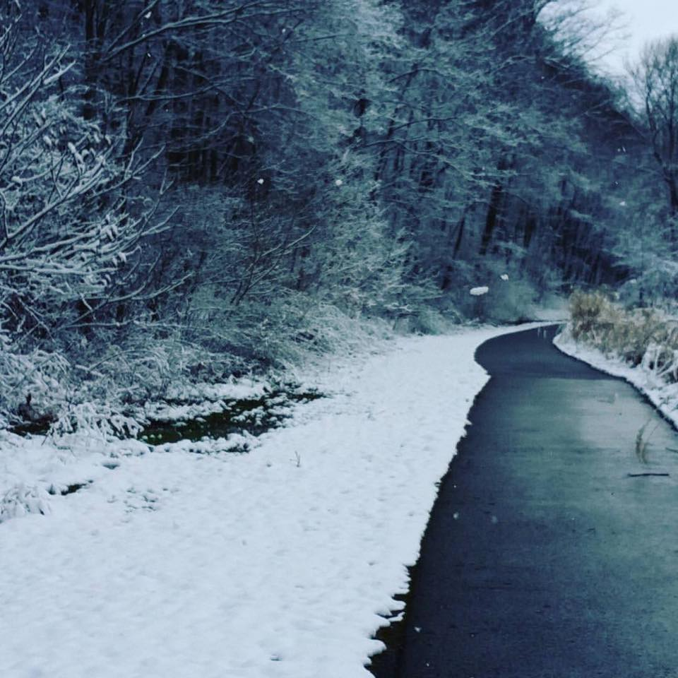 Foxburg bike trail on March 10, 2017. Submitted by Brenda Rose Pritts.