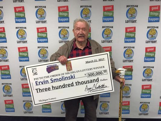 94-year-old-Michigan-man-wins-300000-lottery-prize-on-his-birthday