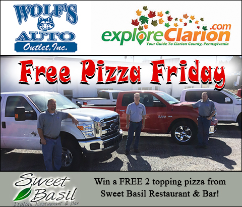 EC Free Pizza Friday Trucks