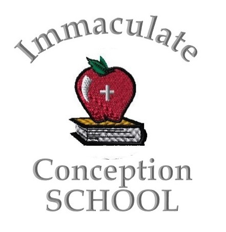 School Logo with Apple