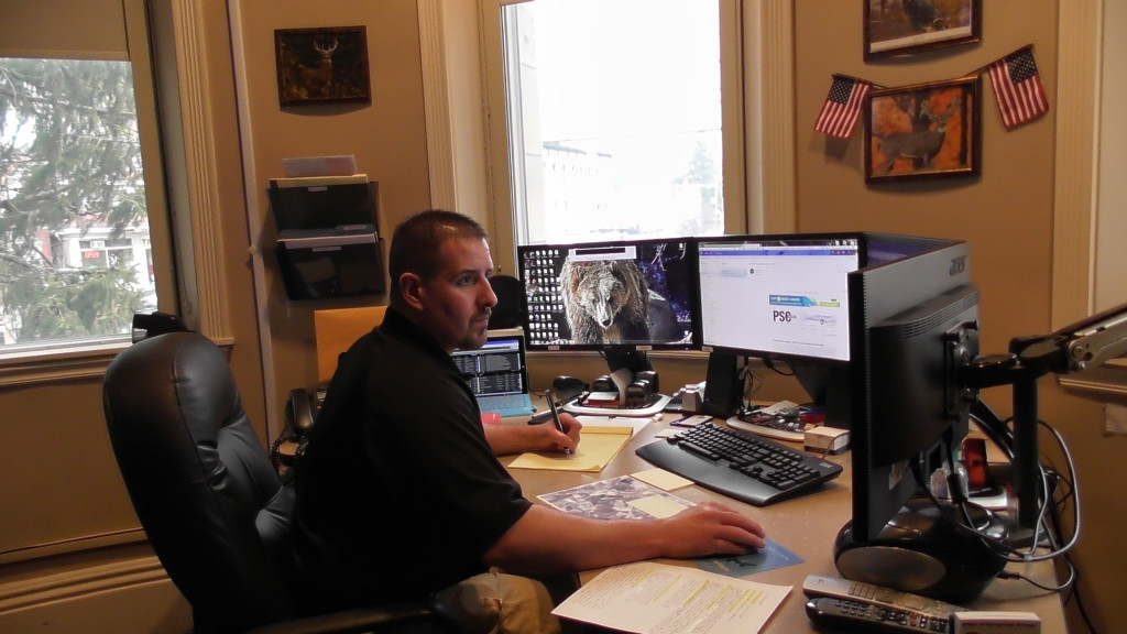 Clarion Co. 911 Director Ron Wolbert