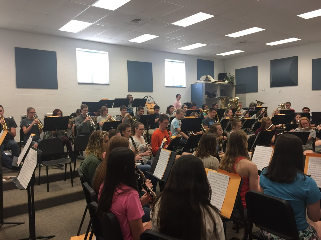 Honors Band Rehearsal