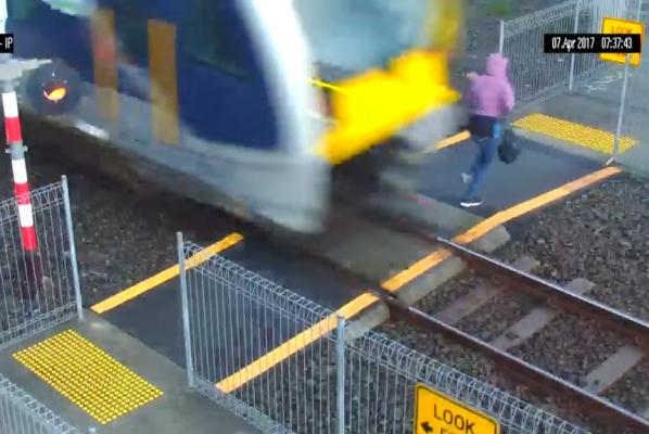 Oblivious-pedestrian-nearly-struck-by-New-Zealand-train