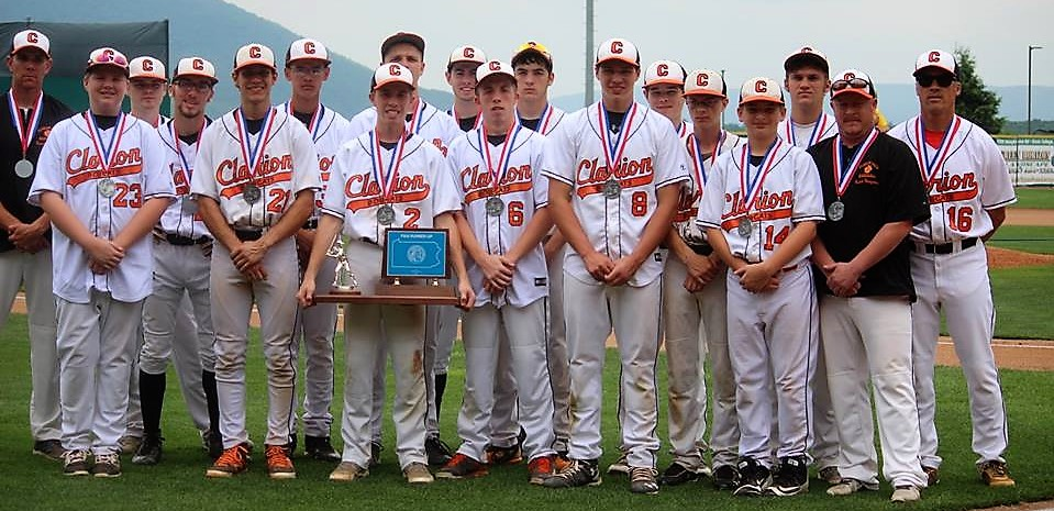 Clarion Baseball Second Place