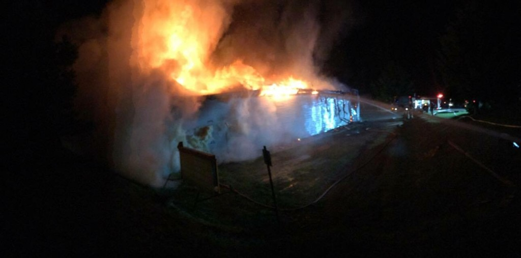 Heavy Damage Reported at Sugar Shack Fire ...
