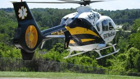 Man Flown to UPMC Presbyterian After Motorcycle Collides