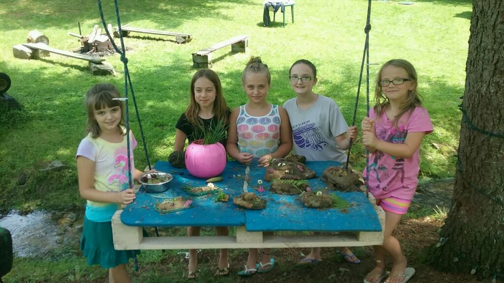 Pictured (Left to right) - Myia Hetrick, Kylie Rapp, Madison  Rapp, Paige Hetrick, and Leanne Wentling. Submitted by Jerry Rapp.