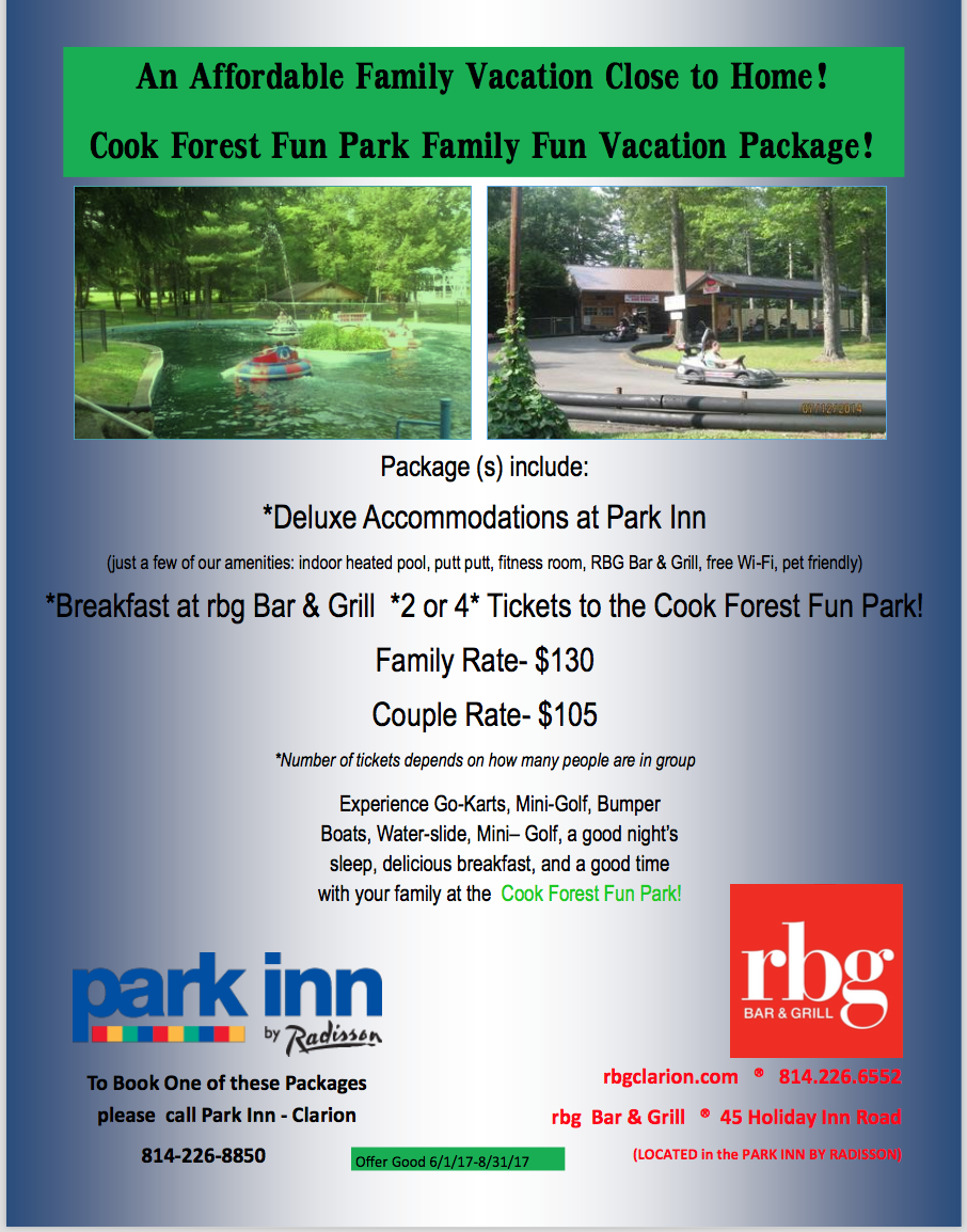 park Inn vacation