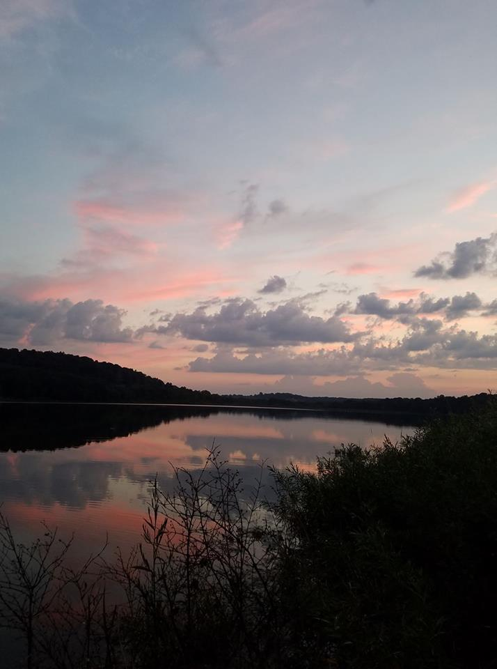 Photo taken at Kahle Lake while fishing. Submitted by Kelli Hartzell.