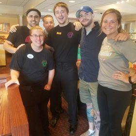 "Member of the Atlantic Paranormal Society were iat the Clarion Eat N Park. They are on the SyFy show ""Ghost Hunters.""  Submitted by Ian Carroll."