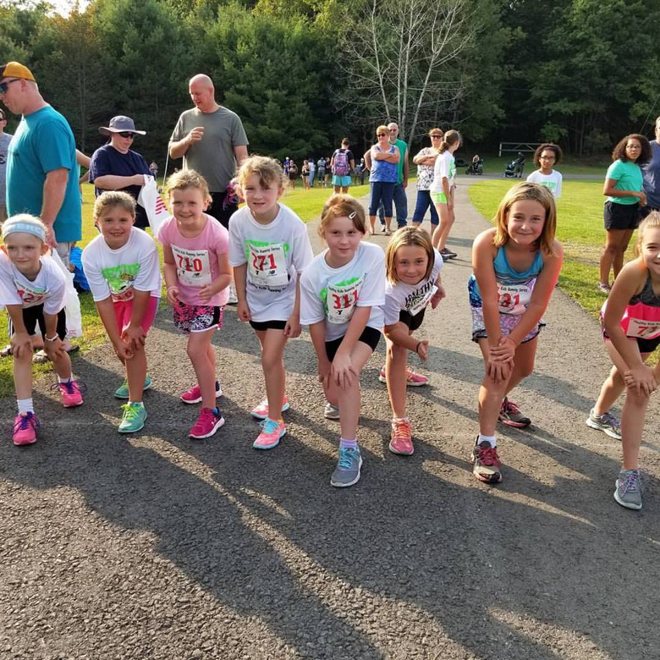 Captured at Healthy Kids Running Series at the Clarion County Park. Photo courtesy Clarion County YMCA.