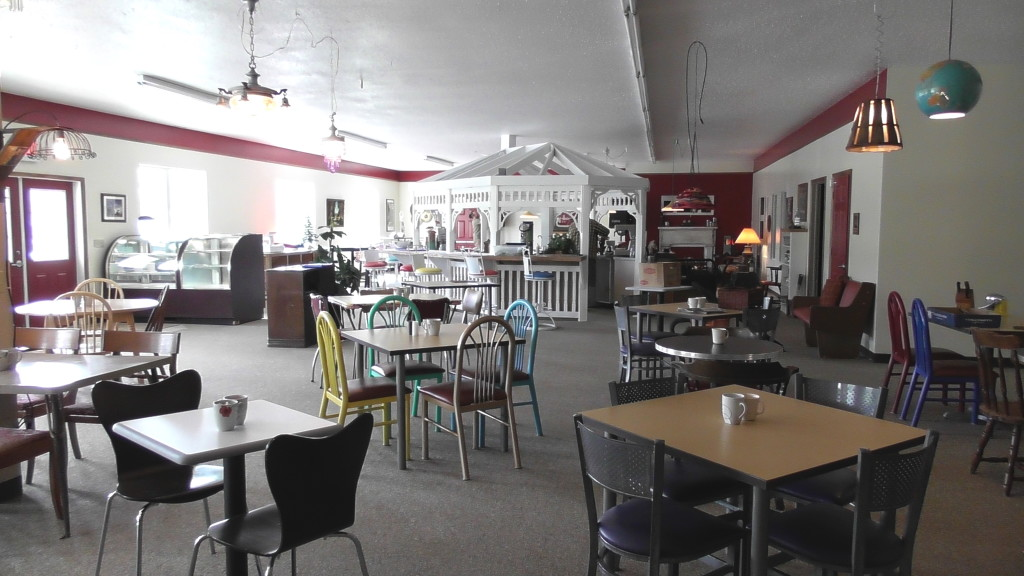Johnstown cafe pictures decor