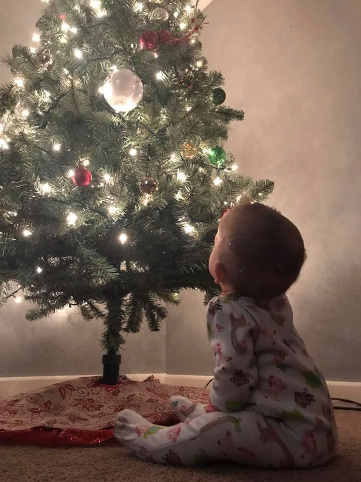 Laken is ready for Christmas. Submitted by her grandmother, Mary Hughes of Cooksburg.
