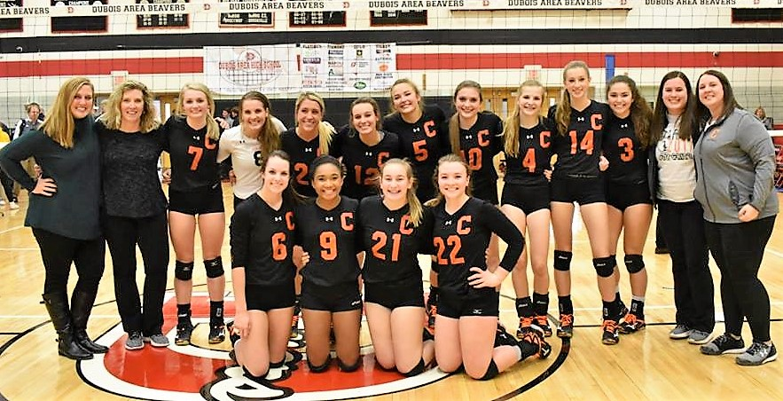 Clarion Volleyball After Quarterfinals 2017