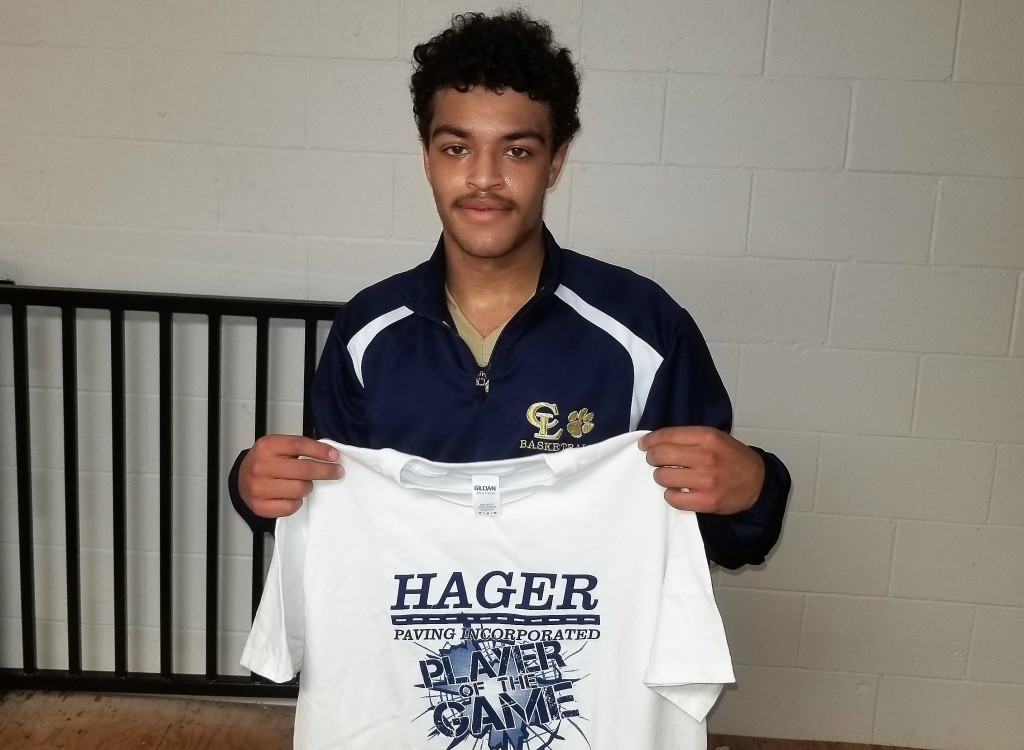 Julian Laugand Hager Paving Player of the Game