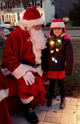 Taylee Herr, age 7, at East Brady Light Up Night.  Submitted by Jennifer Dawn.