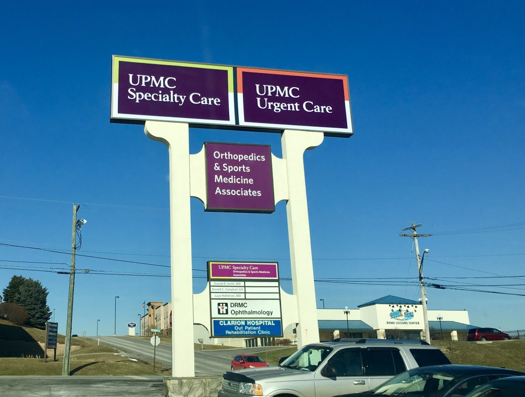 UPMC Urgent Care Signs Point to New Service