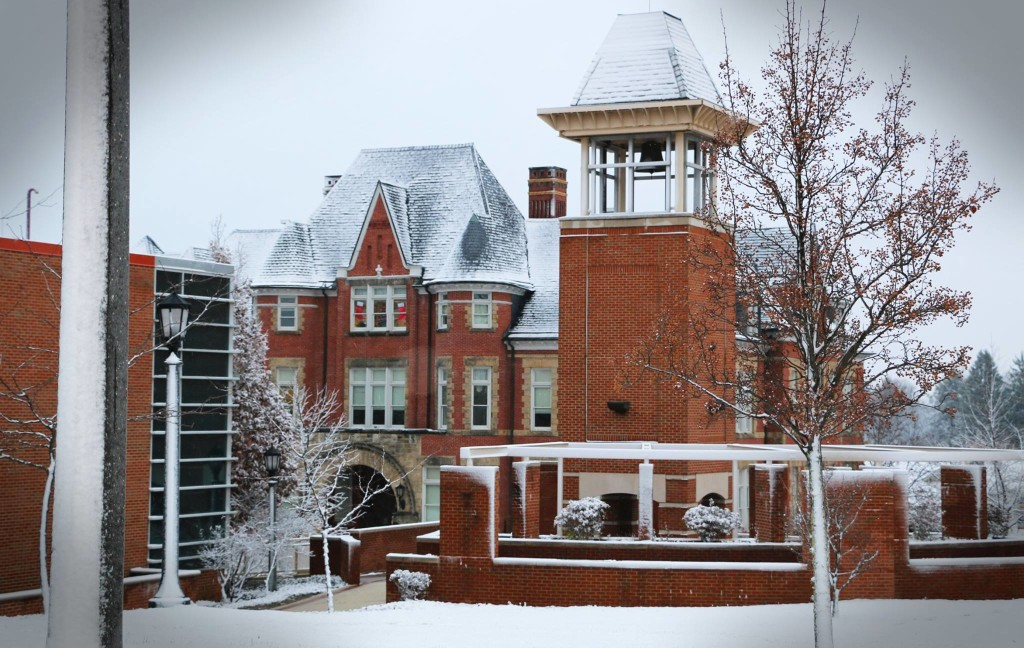 Clarion University winter