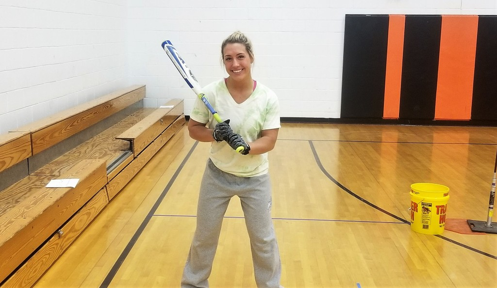 Maya Thornton Clarion Softball