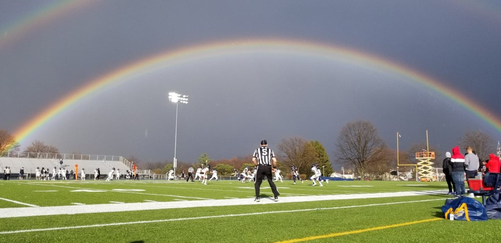 At the Clarion University annual Blue Gold spring game. Submitted by Chad Thomas.