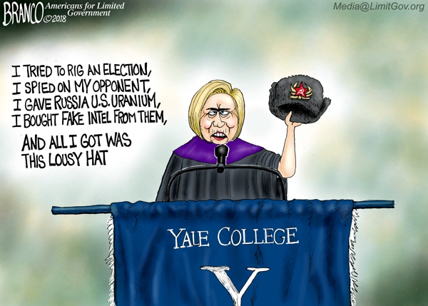 Hillary at Yale DT 600