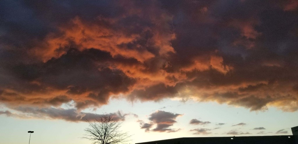 Clouds over Clarion. Submitted by Lauren Skelley.