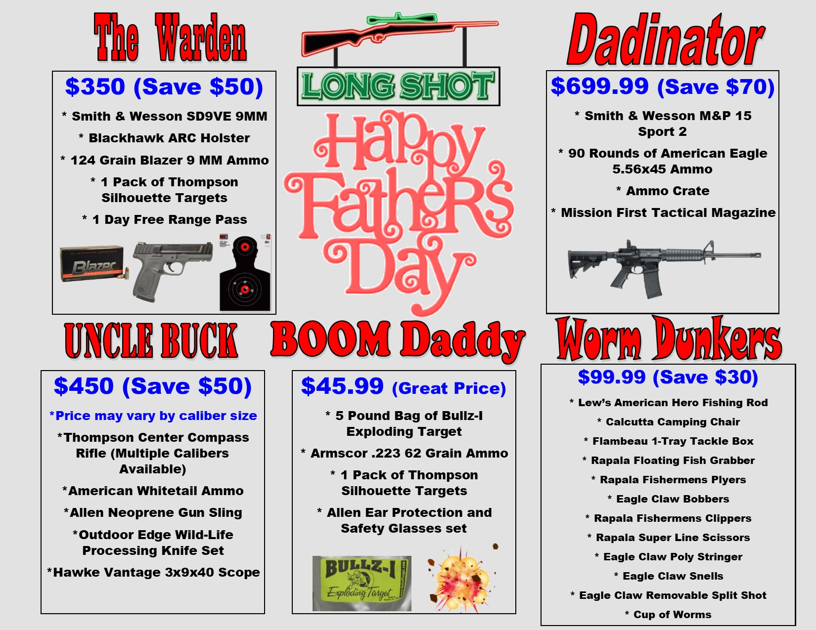 Fathers Day Special Packages