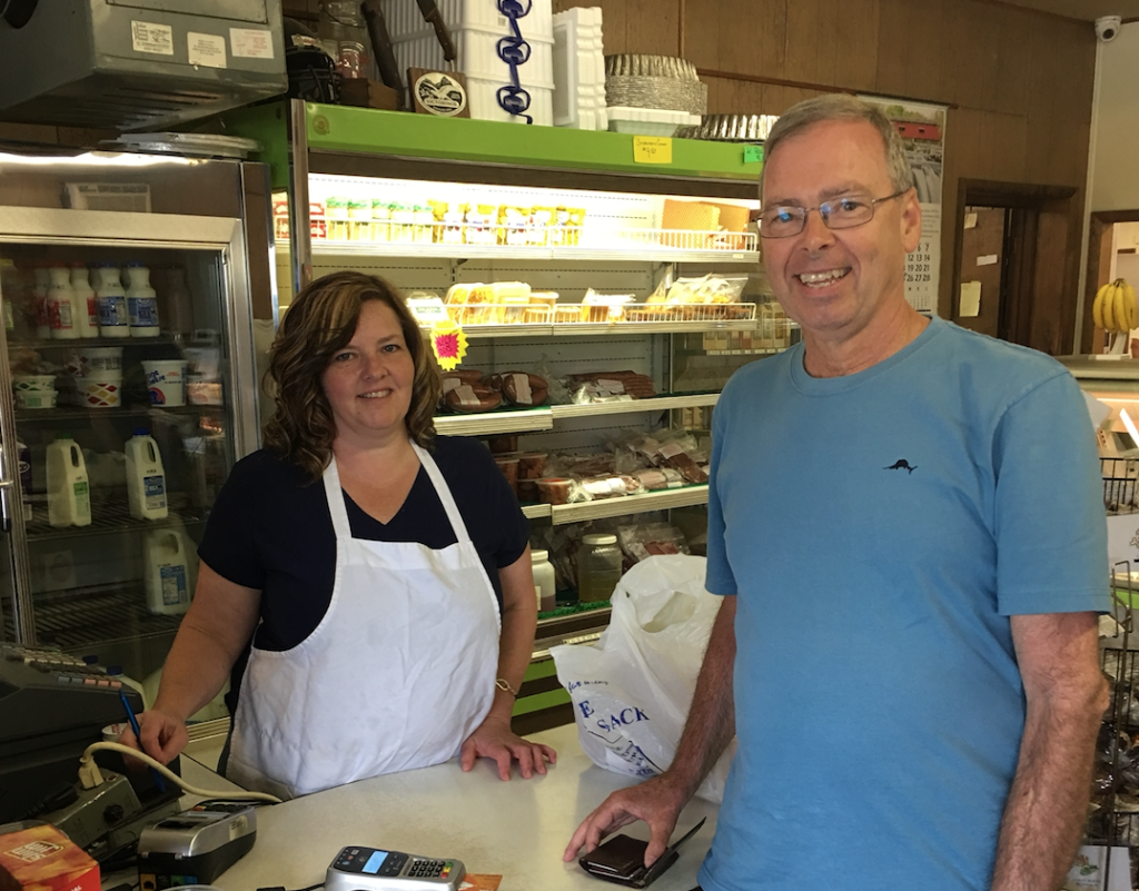 At Hirsh Meats. Submitted by Kevin Lantz.