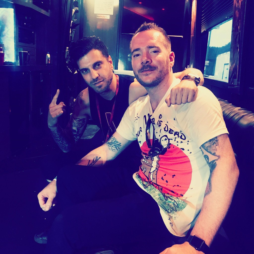 Nate Ragan with Spencer Charnas